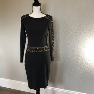 Cache Embellished Dress : Excellent Condition